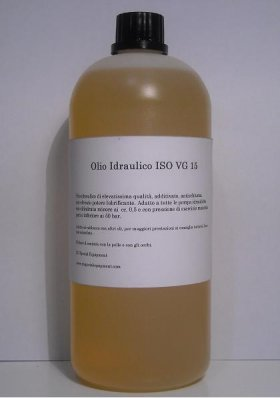 Olio idraulico 15 - RC SPECIAL EQUIPMENT